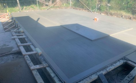 CONSTRUCTION OF CONCRETE GENERATOR SLAB, KURNELL – APPROVED